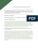 nuames senior portfolio letter of recommendation personal data form