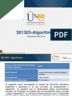 Presentacion Del Curso Algoritmos