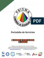 Portafolio de Servicios Prisma Seguridad 082019