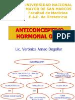 Anticoncepcion Hormonal Oral