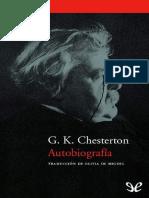Autobiografía G. K. Chesterton