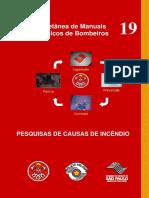 Manual-19 - Pesquisas de Causas de Incêndio