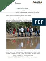 30-11-19 Recorre Gobernadora Pavlovich zonas afectadas por las lluvias del ejido San Luis