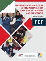 Informe Nacional Sobre Consulta Derechos de La Ninez