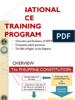 The National Service Training Program Group 1 Lts