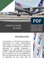 FEDEX logística verde, proyecto final .pptx