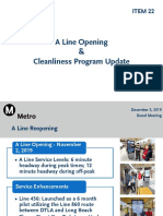 A Line Reopening Presentation