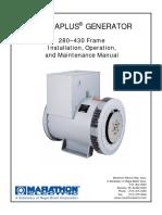 Manual de Inst. Oper. y Mant. Magnaplus Generator
