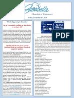 Tis' the Season for Celebrations! - The Carrabelle Chamber of Commerce E-Newsletter for December the 6th