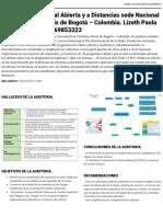 Paso 5 – Realizar Un Artículo Con Los Resultados de La Auditoría