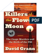 [2017] Killers of the Flower Moon by David Grann | The Osage Murders and the Birth of the FBI | Vintage