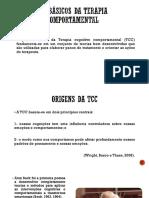 Técnicas básicas da Terapia comportamental Cognitiva TCC.pptx
