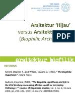 Kuliah #5 Biophilic Architecture