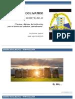 Arquitectura Bioclimatica - Introducción a la Geometría solar