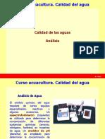 Calidad Del Agua (I.5). Acuacultura