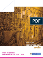 Marco de Referencia - Modulo de Comunicacion Escrita