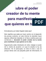 Descubre el poder creador de tu mente para manifestar lo que quieres en tu vida - ROSANNA BIGLIA QMM.pdf