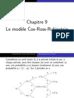 Chap 9 - Le Modele Cox-Ross-Rubinstein
