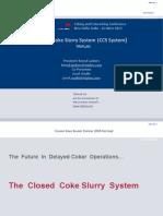 38 Closed Coke Slurry 2