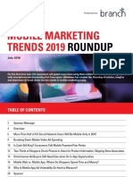 Mobile Marketing Trends Roundup 2019 EMarketer