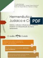 Hermêutica Judaica e Cristã - Hebraicando UERJ - Prof Evaldo Beranger.pdf