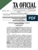 Gaceta Oficial Extraordinaria 6490