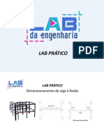 Lab Prático - Dimensionamento a Flexao