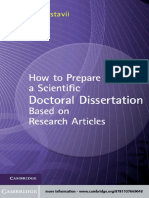 Björn Gustavii - How to Prepare a Scientific Doctoral Dissertation Based on Research Articles-Cambridge University Press (2012).pdf
