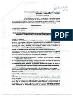 Proyecto de ley de transparencia e integridad de la función congresal, que elimina la inmunidad parlamentaria y establece límites a retribuciones