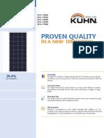 Panel Fv Kyl150-170m Kuhn