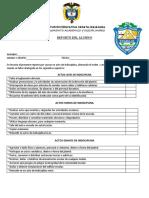 control disciplinario ineza 2019