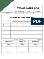 Dc Pr Ac 03 Saneamiento de Packing