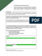 Estructura Básica de Planeación Didáctica- Conectivismo