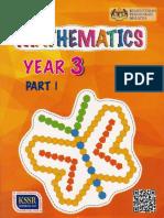 Mathematics Year 3 Part 1 DLP Text KSSR Semakan