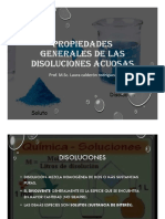 Disoluciones Acuosas y Reacciones Químicas