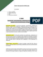Informe Descripcion Del Mercado - SIMULACION