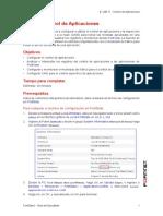 FortiGate 1 - Lab 11 - Control de Aplicaciones