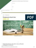 Planejamento Anual 4 Ano Do Ensino Fundamental