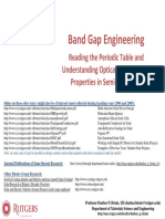 Band Gap and Doping Lecture