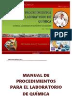 Manual Procd. Lab. Química