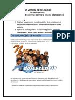 ESTUDIO DE SELECCIÓN VIRTUAL