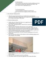 Carbon Fiber Sheet Methodology