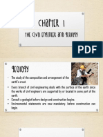 Chapter 1 the Civil Engineer and Geology