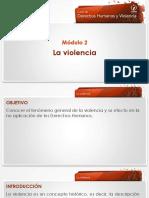 derechos humanos la violencia