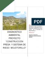 Diagnostico Microcuenca Construcción Presa y Sistema de Riego Mojotorillo
