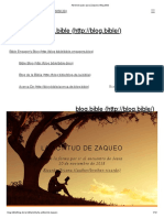 Abriendo Paso Para Zaqueo _ Blog.bible