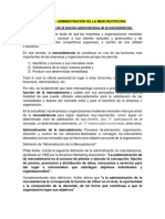 UNIDAD 2 Administraciòn de La Mercadotecnia