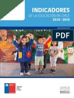 Indicadores Educacion Chile