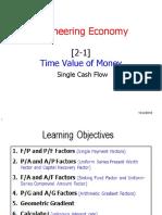 [2-1] Time Value of Money - Single Cash Flow.pdf