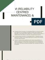 Rcm (Reliability Centred Maintenance) &